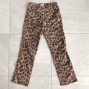 Miaou Leopard Print Pants